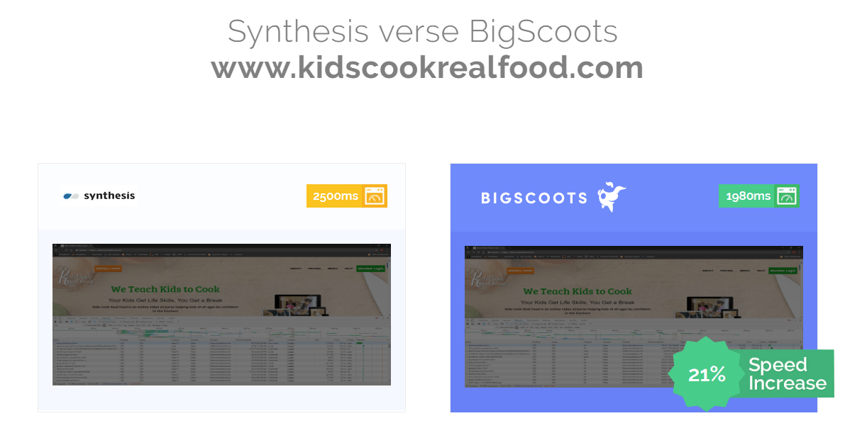 Synthesis verse BigScoots